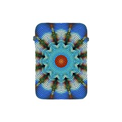 Pattern Blue Brown Background Apple Ipad Mini Protective Soft Cases