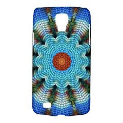 Pattern Blue Brown Background Galaxy S4 Active