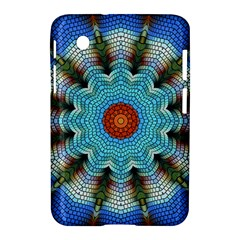 Pattern Blue Brown Background Samsung Galaxy Tab 2 (7 ) P3100 Hardshell Case