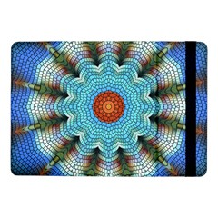 Pattern Blue Brown Background Samsung Galaxy Tab Pro 10 1  Flip Case