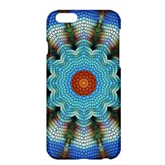 Pattern Blue Brown Background Apple Iphone 6 Plus/6s Plus Hardshell Case