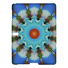 Pattern Blue Brown Background Samsung Galaxy Tab S (10 5 ) Hardshell Case