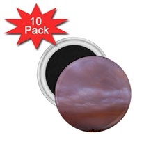Rain Rainbow Pink Clouds 1 75  Magnets (10 Pack)