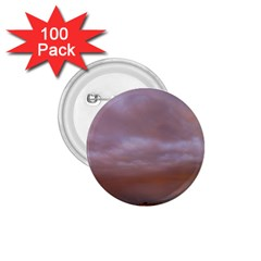 Rain Rainbow Pink Clouds 1 75  Buttons (100 Pack)