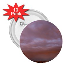 Rain Rainbow Pink Clouds 2 25  Buttons (10 Pack)