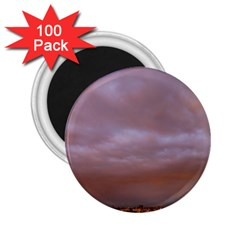 Rain Rainbow Pink Clouds 2.25  Magnets (100 pack)