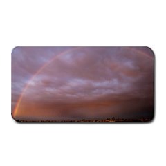 Rain Rainbow Pink Clouds Medium Bar Mats