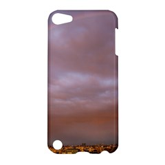 Rain Rainbow Pink Clouds Apple Ipod Touch 5 Hardshell Case