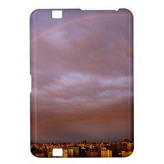 Rain Rainbow Pink Clouds Kindle Fire Hd 8 9