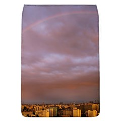Rain Rainbow Pink Clouds Flap Covers (l)