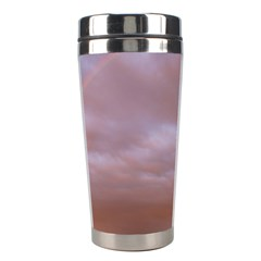 Rain Rainbow Pink Clouds Stainless Steel Travel Tumblers