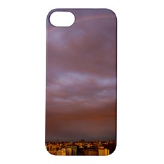 Rain Rainbow Pink Clouds Apple Iphone 5s/ Se Hardshell Case