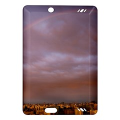 Rain Rainbow Pink Clouds Amazon Kindle Fire Hd (2013) Hardshell Case