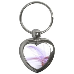 Ring Feather Marriage Pink Gold Key Chains (heart)