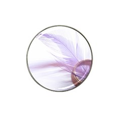 Ring Feather Marriage Pink Gold Hat Clip Ball Marker (4 Pack)