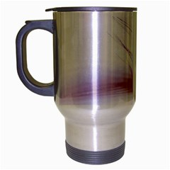 Ring Feather Marriage Pink Gold Travel Mug (silver Gray)