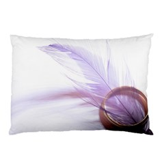 Ring Feather Marriage Pink Gold Pillow Case