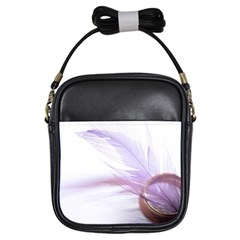 Ring Feather Marriage Pink Gold Girls Sling Bags