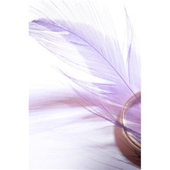 Ring Feather Marriage Pink Gold 5 5  X 8 5  Notebooks