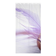 Ring Feather Marriage Pink Gold Shower Curtain 36  X 72  (stall)