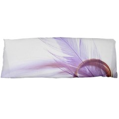 Ring Feather Marriage Pink Gold Body Pillow Case Dakimakura (two Sides)