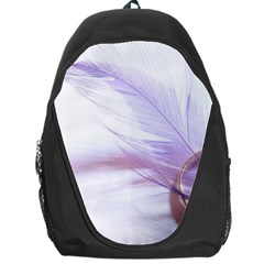 Ring Feather Marriage Pink Gold Backpack Bag