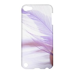 Ring Feather Marriage Pink Gold Apple Ipod Touch 5 Hardshell Case