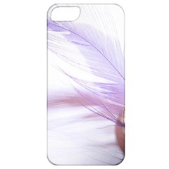 Ring Feather Marriage Pink Gold Apple Iphone 5 Classic Hardshell Case