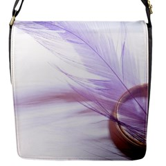 Ring Feather Marriage Pink Gold Flap Messenger Bag (s)