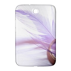 Ring Feather Marriage Pink Gold Samsung Galaxy Note 8 0 N5100 Hardshell Case