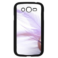 Ring Feather Marriage Pink Gold Samsung Galaxy Grand Duos I9082 Case (black)