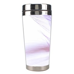 Ring Feather Marriage Pink Gold Stainless Steel Travel Tumblers