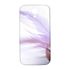 Ring Feather Marriage Pink Gold Samsung Galaxy S4 I9500/i9505  Hardshell Back Case