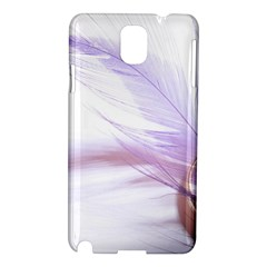 Ring Feather Marriage Pink Gold Samsung Galaxy Note 3 N9005 Hardshell Case