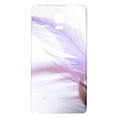 Ring Feather Marriage Pink Gold Galaxy Note 4 Back Case