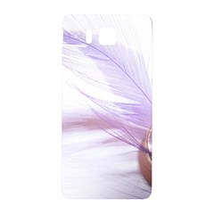 Ring Feather Marriage Pink Gold Samsung Galaxy Alpha Hardshell Back Case