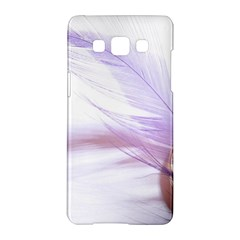 Ring Feather Marriage Pink Gold Samsung Galaxy A5 Hardshell Case