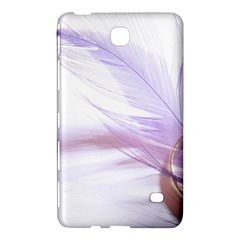 Ring Feather Marriage Pink Gold Samsung Galaxy Tab 4 (8 ) Hardshell Case