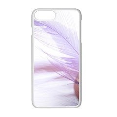 Ring Feather Marriage Pink Gold Apple Iphone 7 Plus White Seamless Case
