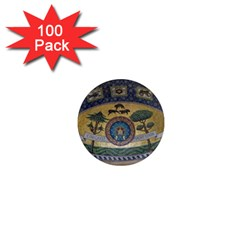 Peace Monument Werder Mountain 1  Mini Magnets (100 Pack)