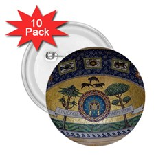 Peace Monument Werder Mountain 2 25  Buttons (10 Pack)