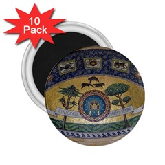 Peace Monument Werder Mountain 2 25  Magnets (10 Pack)