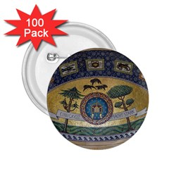 Peace Monument Werder Mountain 2 25  Buttons (100 Pack)