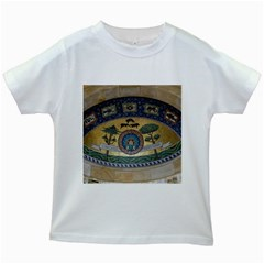 Peace Monument Werder Mountain Kids White T Shirts