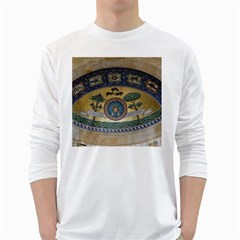 Peace Monument Werder Mountain White Long Sleeve T-Shirts