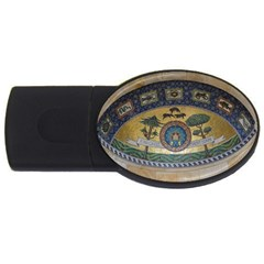 Peace Monument Werder Mountain Usb Flash Drive Oval (4 Gb)