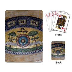 Peace Monument Werder Mountain Playing Card