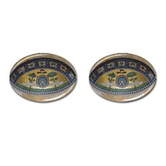 Peace Monument Werder Mountain Cufflinks (oval)