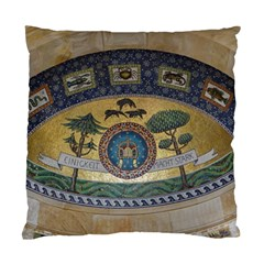 Peace Monument Werder Mountain Standard Cushion Case (two Sides)