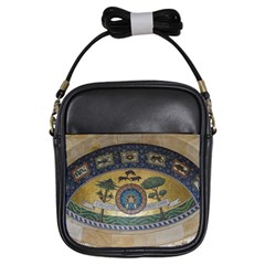 Peace Monument Werder Mountain Girls Sling Bags